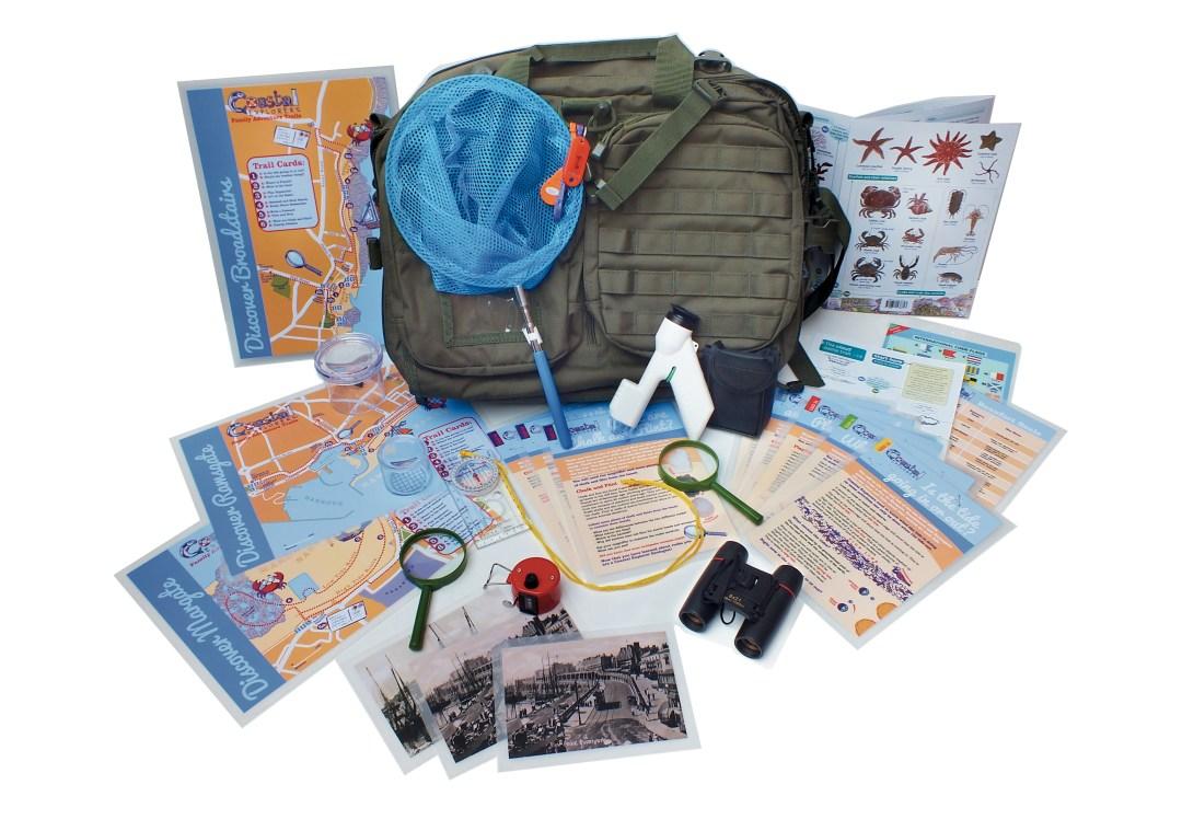 Coastal Explorer Pack in Margate