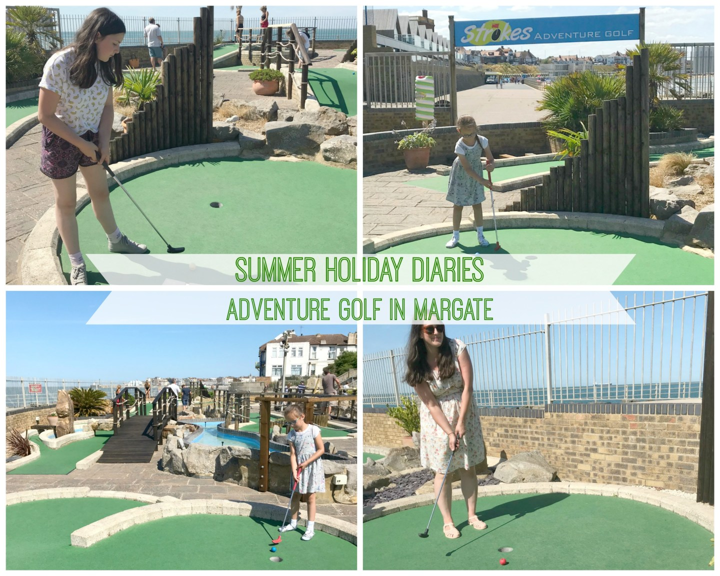 Summer Holiday Diaries – Adventure Golf In Margate
