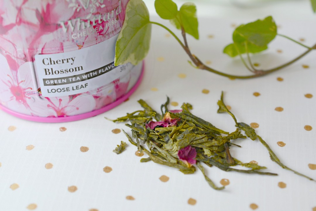 Joining the Loose Leaf Tea Revolution! Whittard Cherry Blossom tea