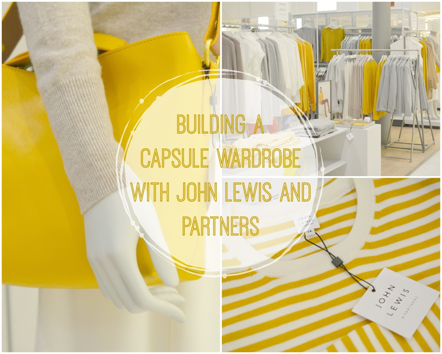 FASHION – Building a Capsule Wardrobe with the New Collection from John Lewis and Partners
