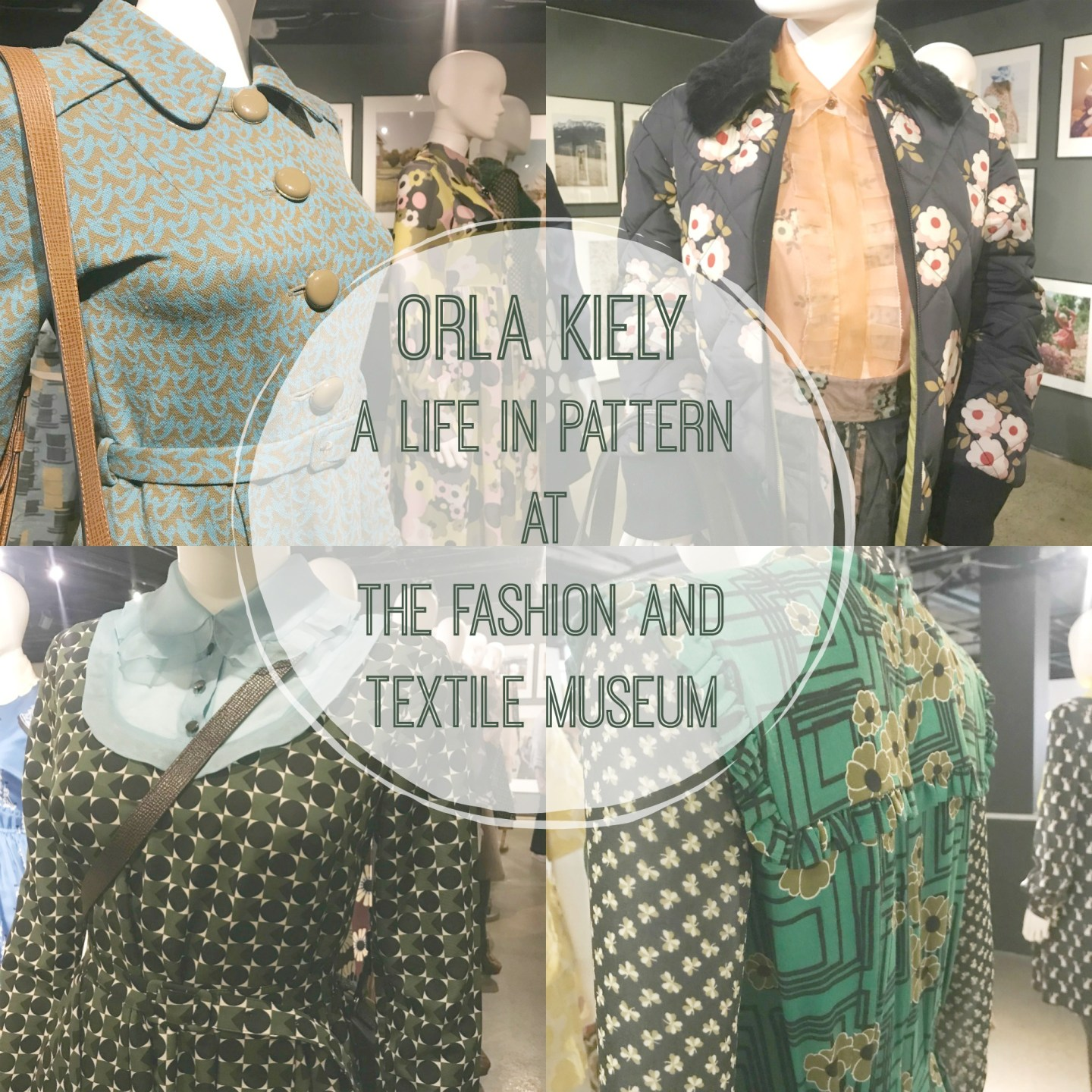 Orla Kiely A Life in Pattern at The Fashion and Textile Museum