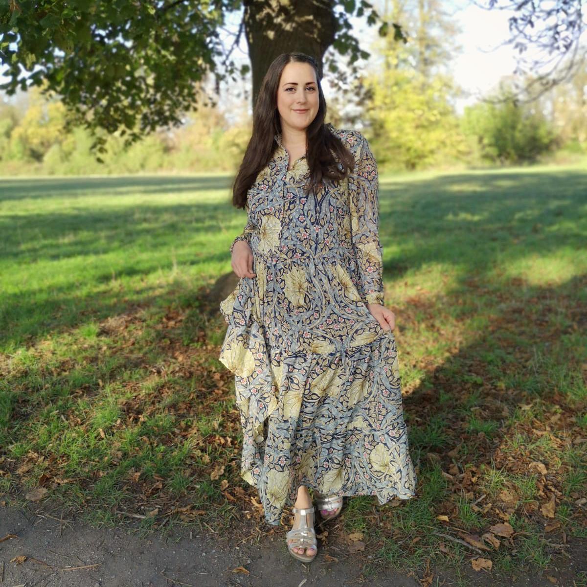 H&M William Morris Dress