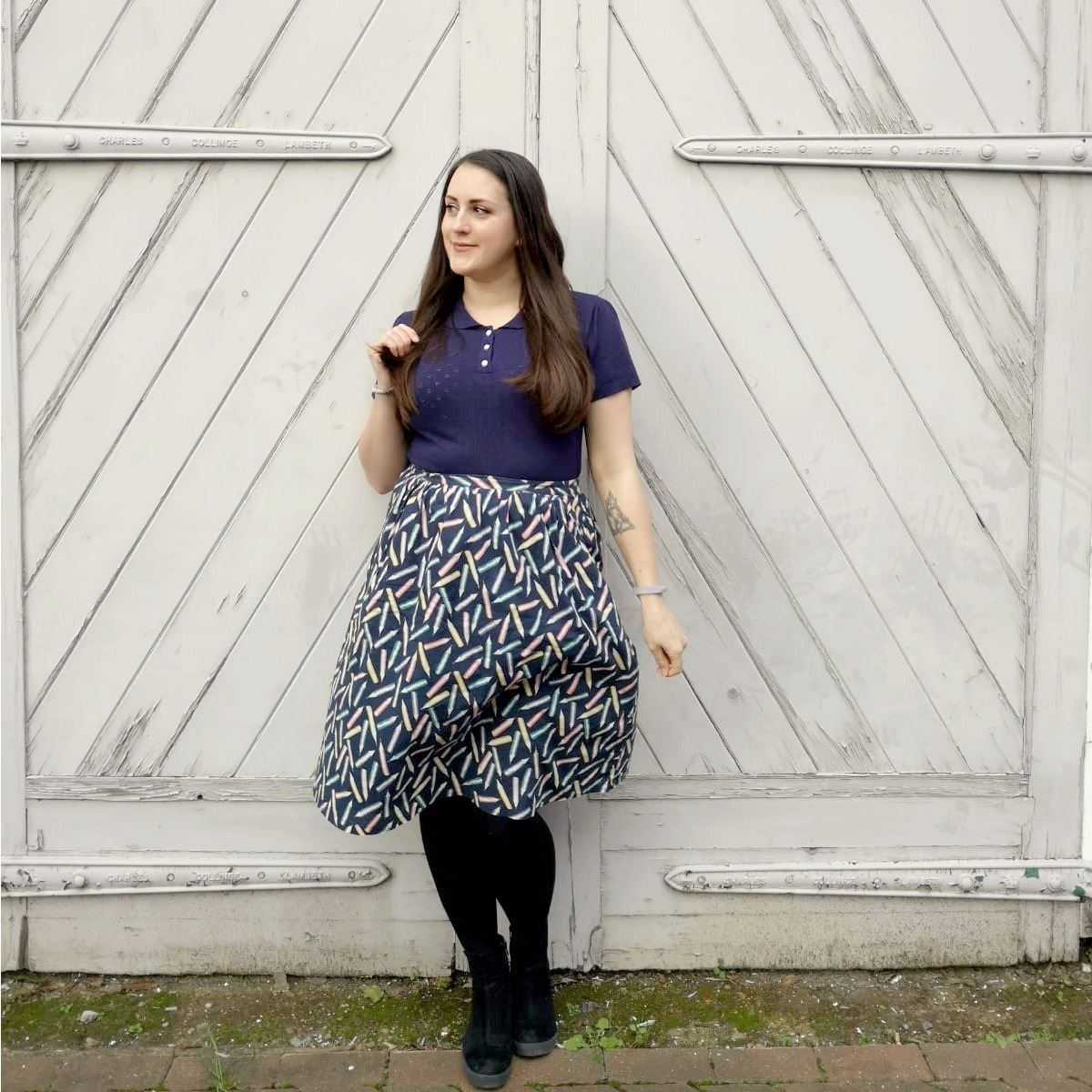What I've Been Wearing - January 2019 | Cath Kidston pencil skirt | Vintage Frills