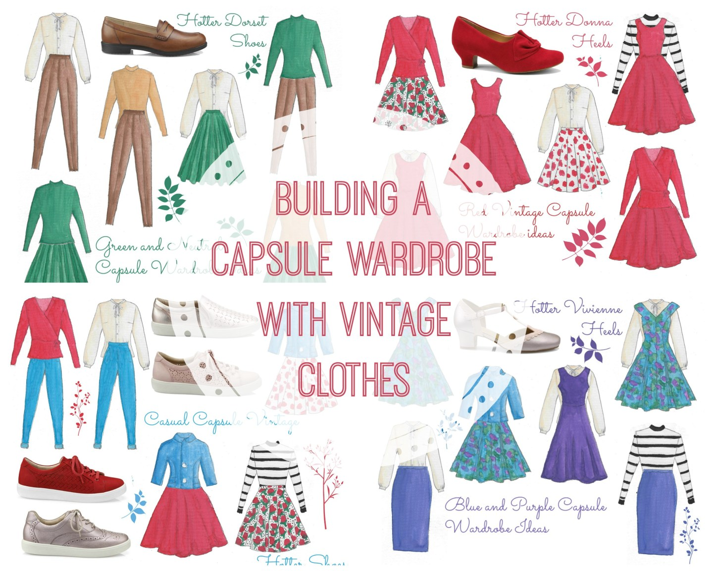 How to Build a Capsule Wardrobe Using Vintage Clothes