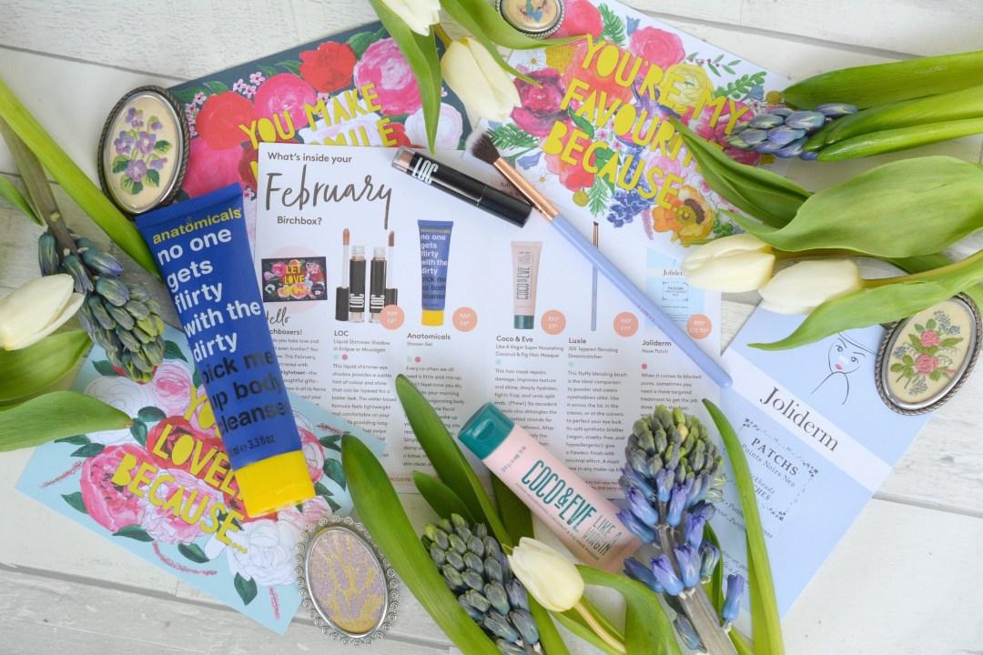 Whats in my February 2019 Birchbox?