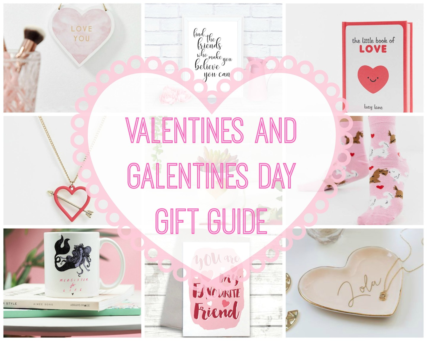 Valentines and Galentines Gift Ideas