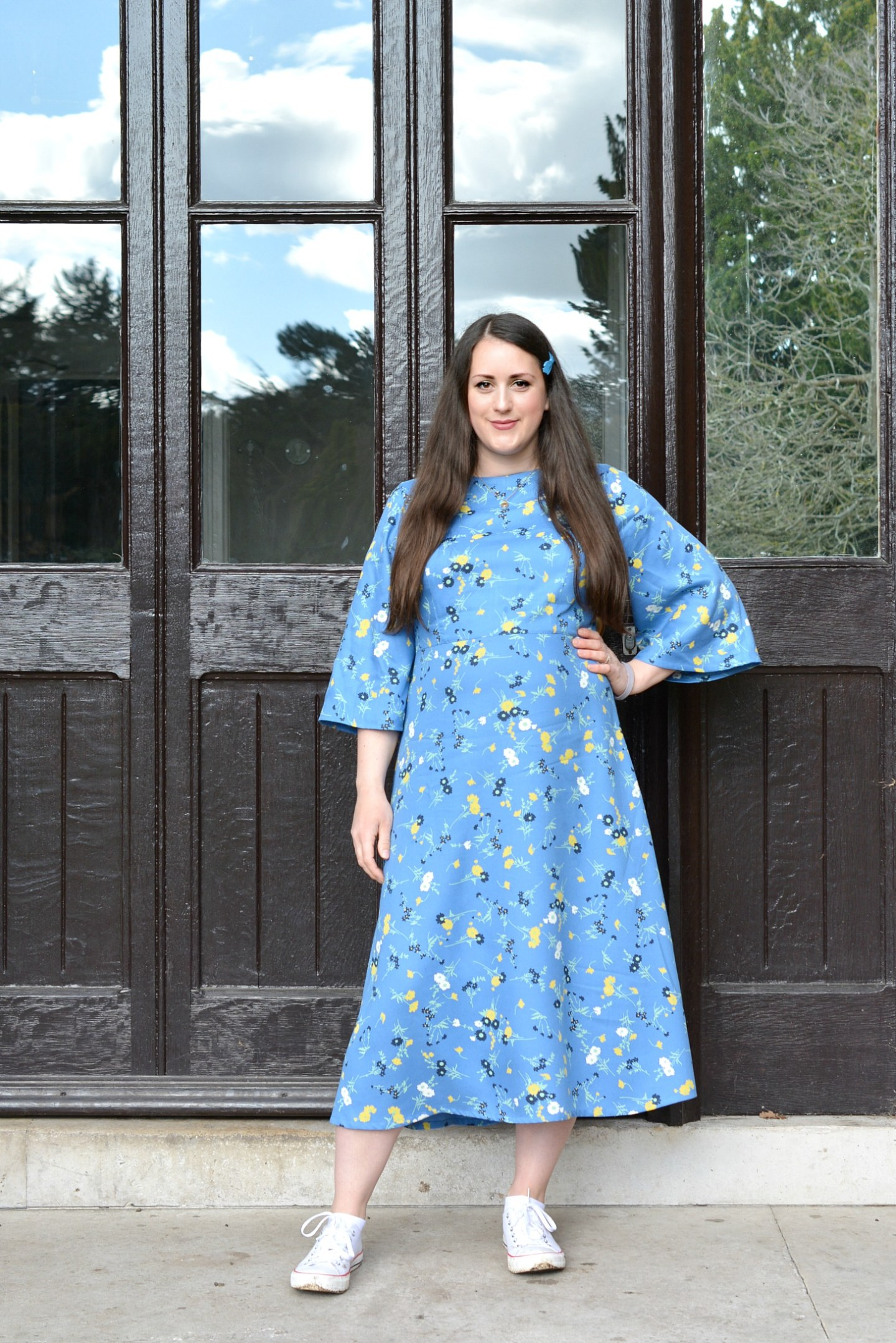 A Beautiful Sustainable and Ethical Dress from People Tree | People Tree Matilda Dress Review | Vintage Frills