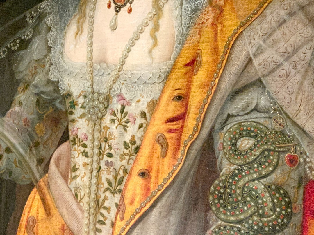 Seeing the Lost Dress of Elizabeth I at Hampton Court Palace | The Bacton Altar Cloth