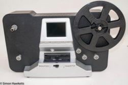Scanner used to convert 8mm films to digital