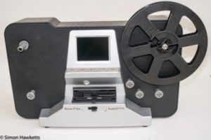 Picture of an 8mm film scanner