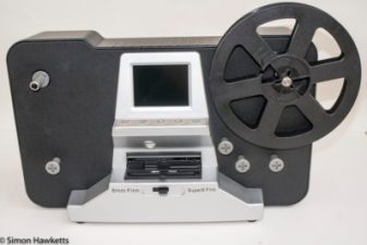 Scanner used when converting 8mm films to digital