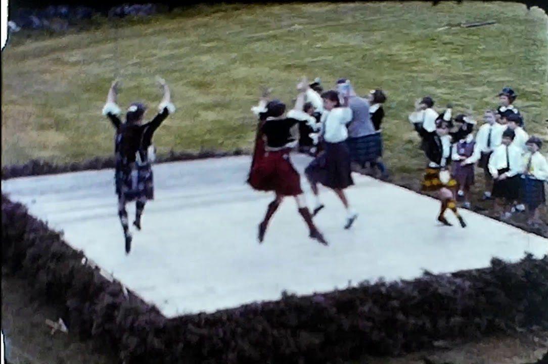 Highland games filmed in the 1960s