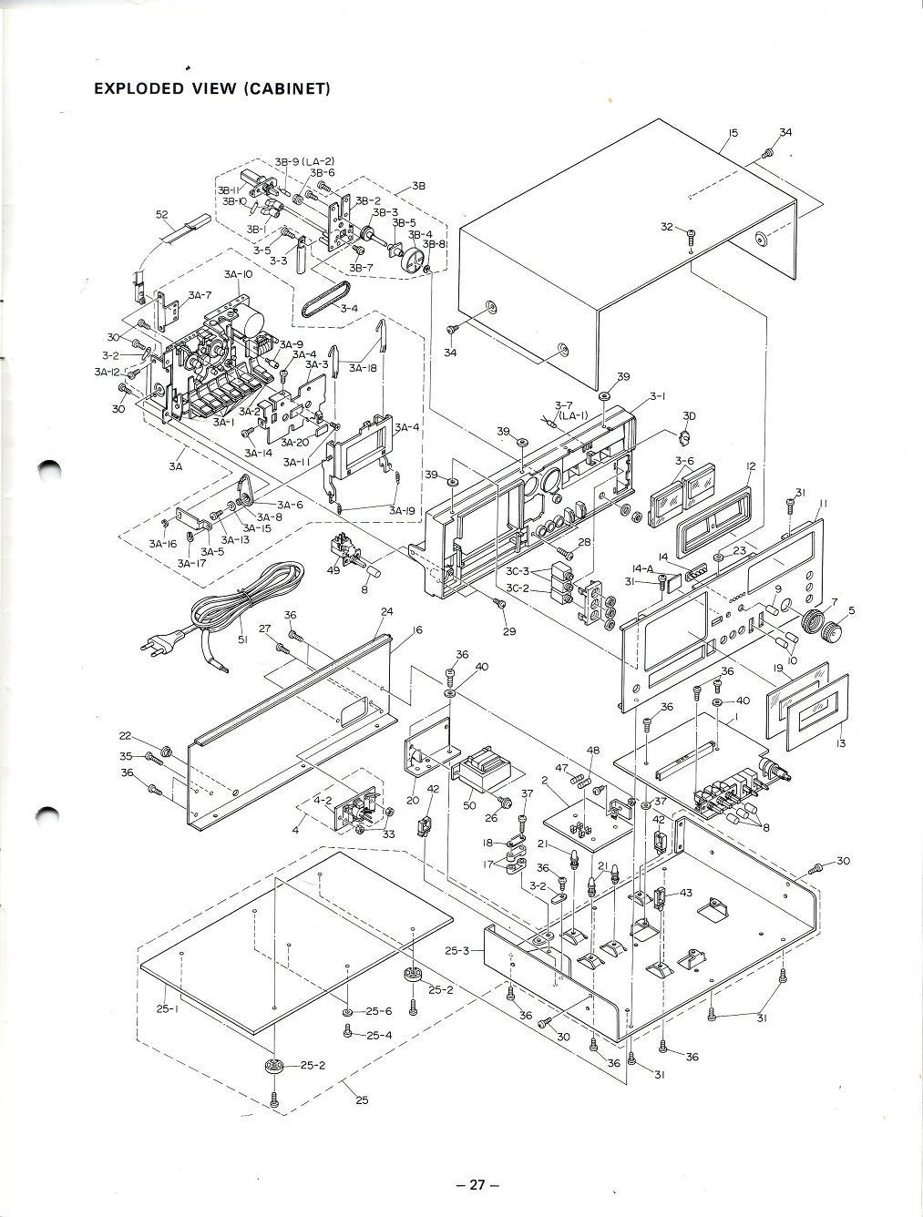 Vintage technics crown ctd 2200 crown ctd 2200 service manual 002 eng crown ctd 2200htm technics wiring diagram technics wiring diagram