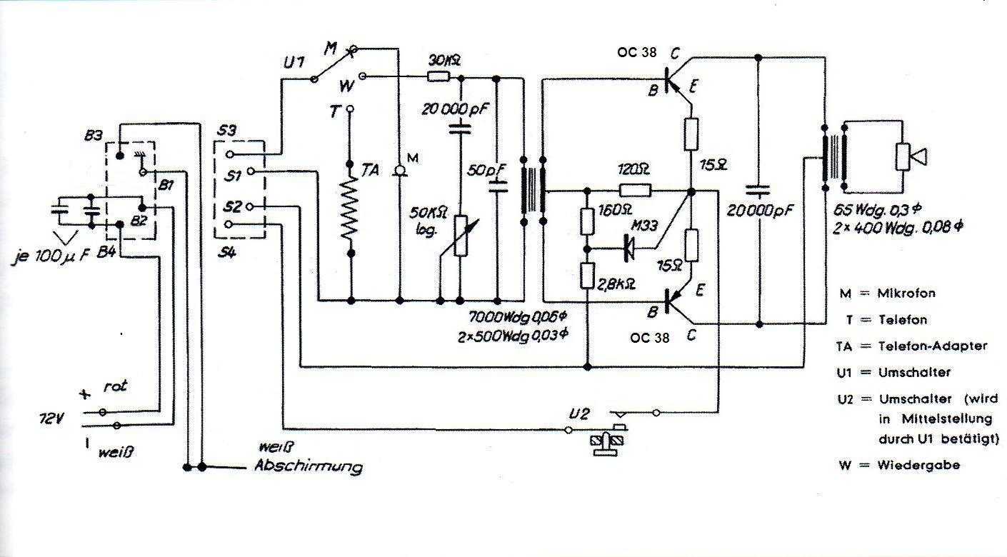 Vintage Technics Minifon P55