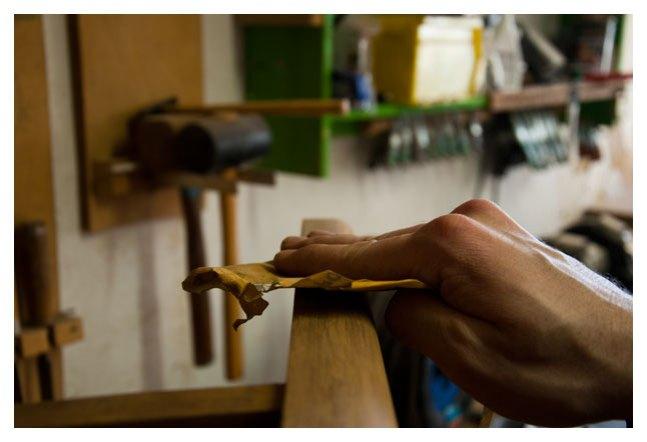 Werkstatt - Handarbeit - Nachschliff