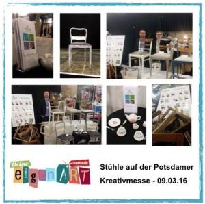 Vintage - vom Stuhl aufwärts: Deine eigenART - Stühle auf der Kreativmesse 13.03.13