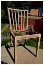 geschliffener Stuhl