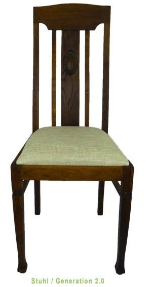 Vintage Stuhl PAUL GUSTAV von Treptow