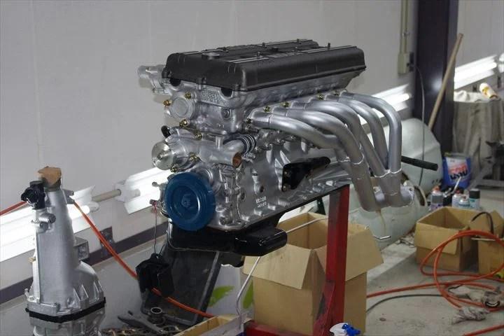 ■エンジン。早く駆動音が聞きたいです!