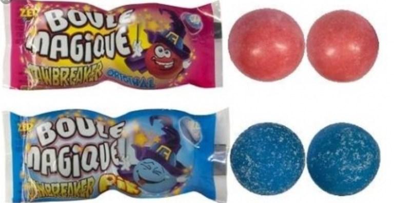 Hewing gum boules magiques