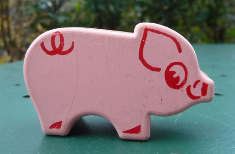 Animaux Educalux cochon rose