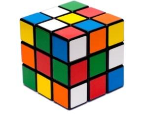 Rubik's cube mélangé