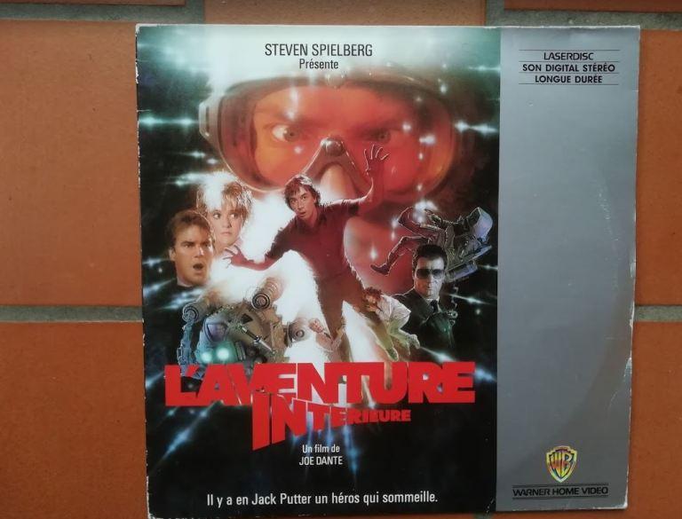 Jaquette du LaserDisc du film L'aventure intérieure (1987)