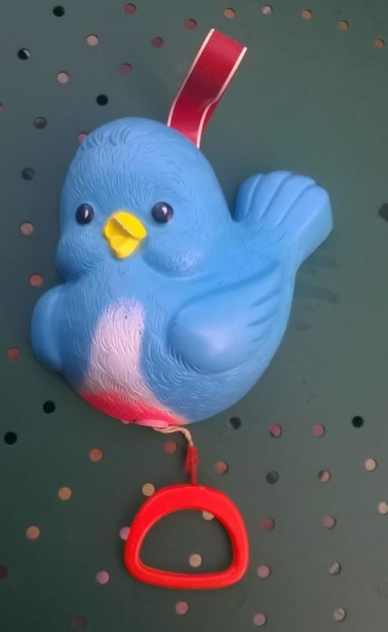 Boîte à musique Fisher Price blue bird