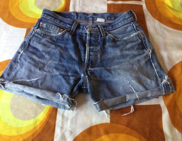 Levis 501 vintage short