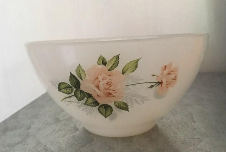 Bol Arcopal roses de France