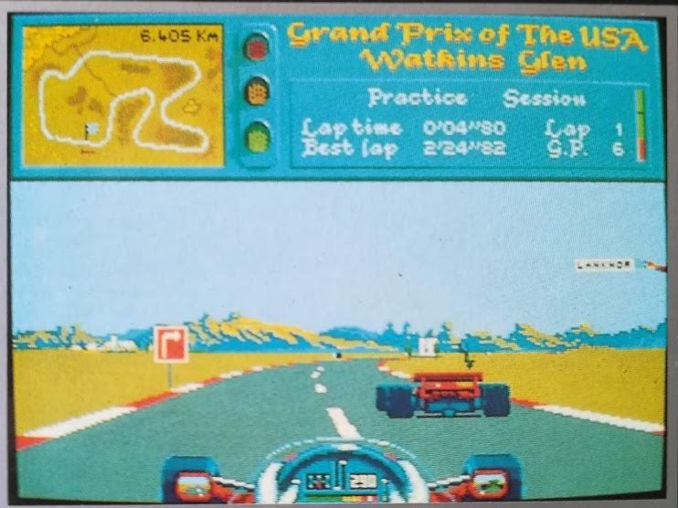 Vroom, le bien nommé, jeu culte de F1 des années 90.
