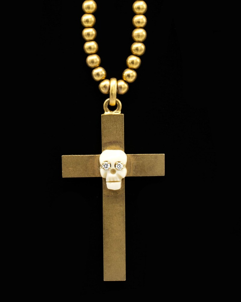Gold Filled Cross Mori