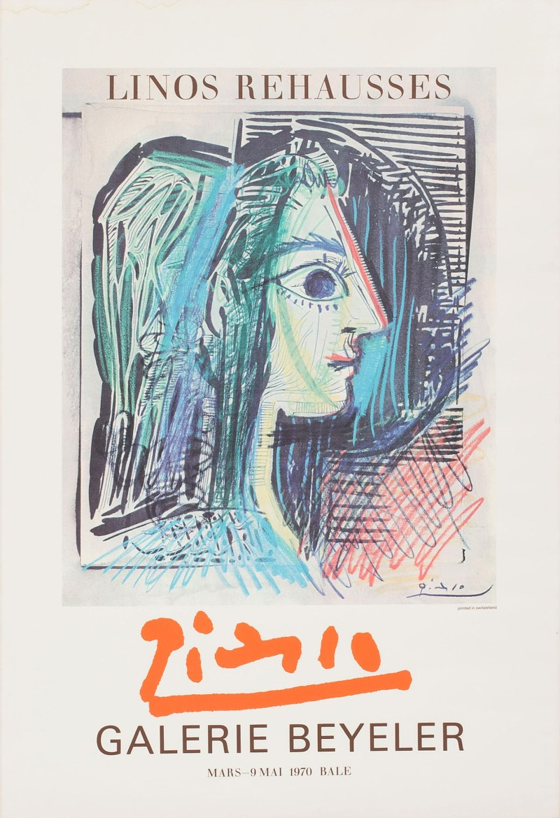 "Picasso - ""Galerie Beyeler"" Pablo Picasso, 1970"