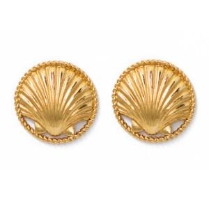 Chanel Shell Earring 1986