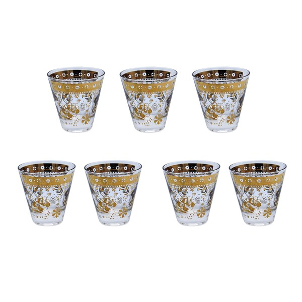 Georges Briard Cordial Glasses, Set of Seven (7)