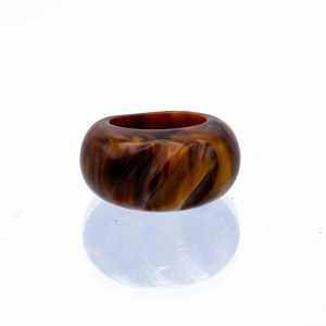 Product Photo ofCarved Chocolate Sundae Bakelite Ring