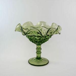 green compote - ruffle edge