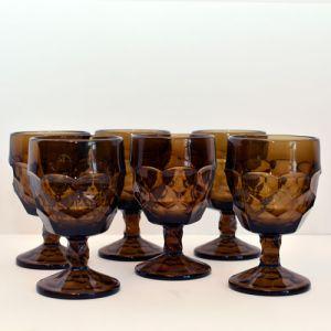 brown goblets