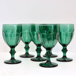 emerald goblets
