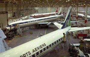 Douglas DC-8 Factory