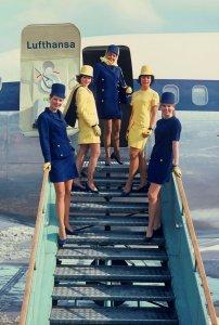 Lufthansa Stewardesses
