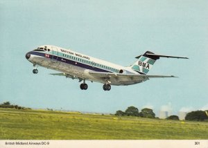 British Midland Airways, BMA DC-9
