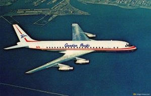 Classic Canadian Pacific Douglas DC-8