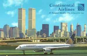 Continental Airlines 757 Air Transport