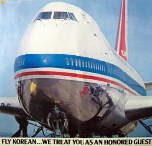 KAL Korean Air Lines Boeing 747B