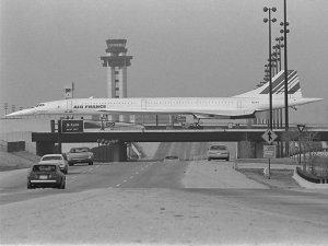 Concorde in Dallas 1970s