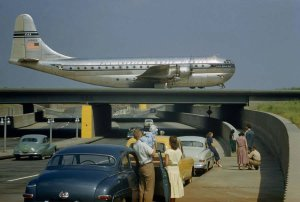 Gorgeous Photo of PAA/PanAm Boeing 377 Stratocruiser 1950s