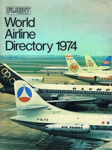 World Airline Directory 1974