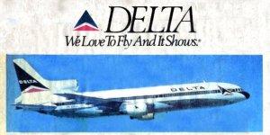 Delta Newspaper Bumper Ad