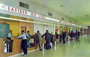 Eastern Airlines at Weir Cook Indianapolis Airport 1960s